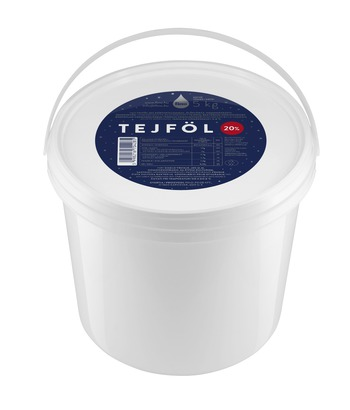 SOUR CREAM 20% 5kg – IN BUCKET