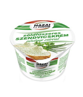 Sandwich cream with green spices and vegetable fat 200 G
